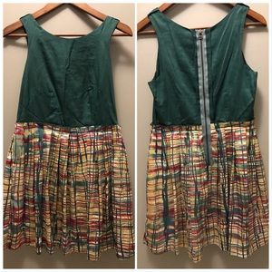 Twelve by Twelve green dress Size Medium